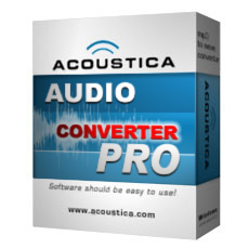Audio Converter Pro - This user friendly audio converter will convert MP3, WAV, WMA, CDA & OGG files with just a right click!
