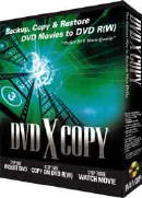 DVD X Copy - The ultimate DVD Burner software!  Copy any DVD movie with this DVD Copier.